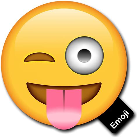 Emoji Photo Prop Tongue Out And Cheeky Wink Photobooth Prop
