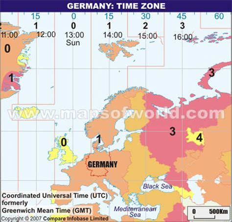 germany time zone map current local time germany