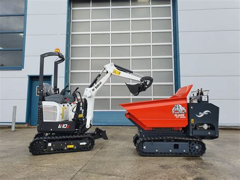 bobcat ez mini excavator slanetrac mini dumper adare machinery