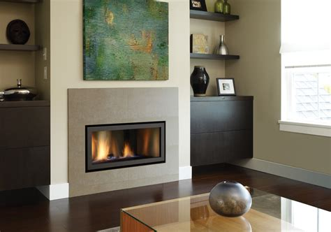 gas fireplace with built in cabinets modern gas fireplace living room contemporary with accent