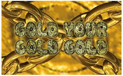 Gold Animated Gifs 90s Giphy Trippy Text