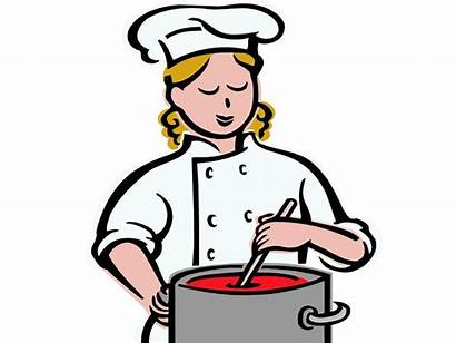 Clipart Cooking Cook Library She Clip