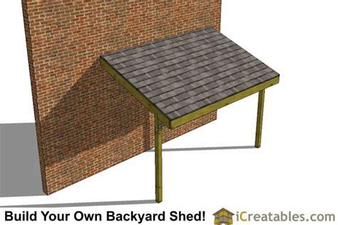 lean  shed plans  lean  open side shed plans