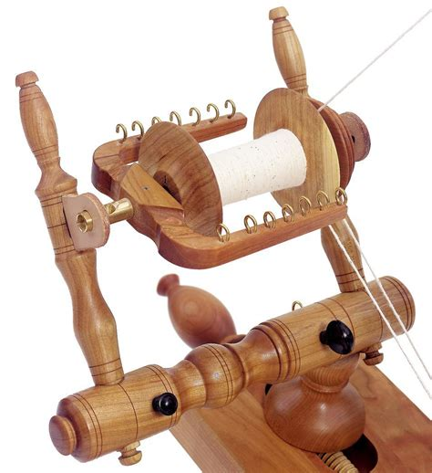 Schacht Reeves Spinning Wheel Single Treadle Cherry