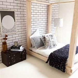 diy dollhouse furniture modern miniatures miniature bed With homemade miniature furniture