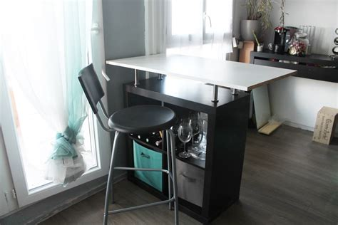 bar bureau transformer un meuble ikea en bar bureau