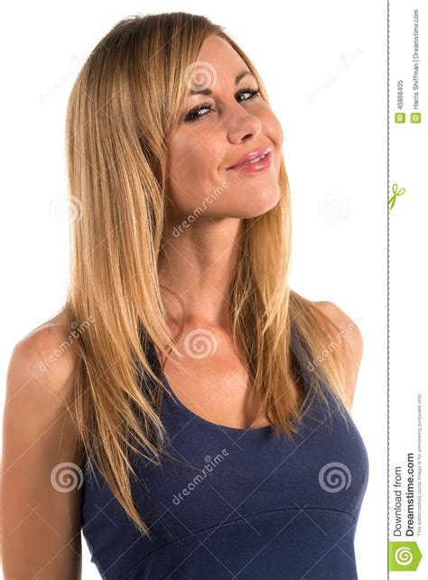 blonde stock image image of gorgeous attractive slender 40868405