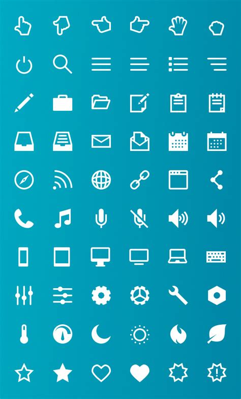 vector icon set  icons  designers icons