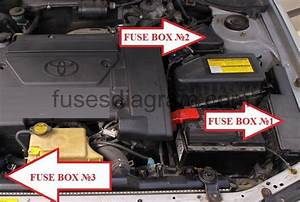 Fuse Box Toyota Avensis 1997