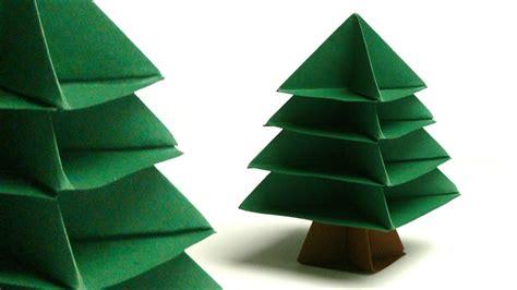 origami christmas trees modulares origami tannenbaum tree