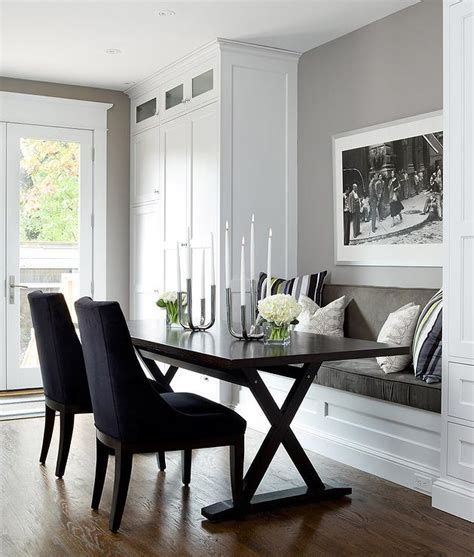 The top seat of the window bench will overhang both sides and the front by 2 inches. Built in Dining Bench with X Based Dining Table ...