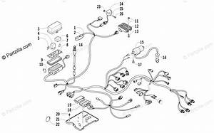 Arctic Cat Atv 2010 Oem Parts Diagram For Wiring Harness