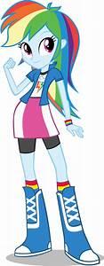 Equestria Girls: Rainbow Dash by DeathNyan on DeviantArt