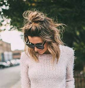 15 Cute Buns For Short Hair Short Hairstyles Haircuts