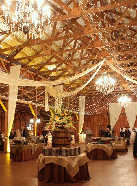 industrial looking lighting 30 indoor barn wedding decor ideas with lights