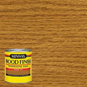Minwax 1 qt Wood Finish Cherry Oil-Based Interior Stain