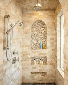 Wall Niche Decorating Ideas by Master Bath Shower Contemporary Bathroom San