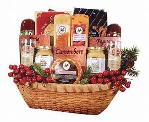 9 Outrageous Food and Wine Gift Baskets Food
