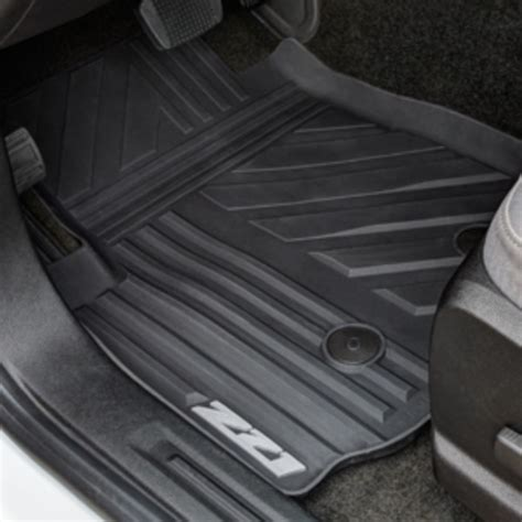 chevy colorado weathertech floor mats 2015 colorado floor mats front premium all weather z71