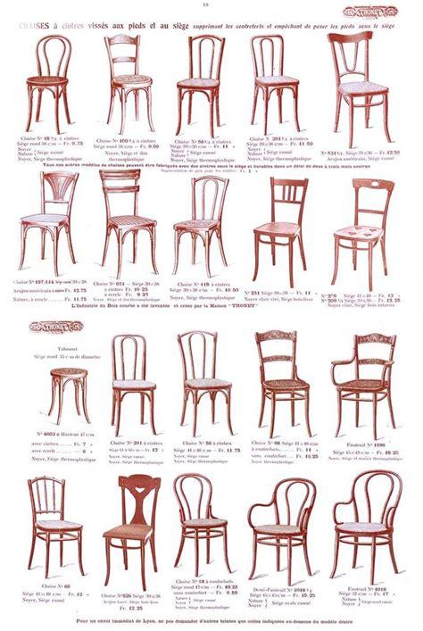 thonet chaise epok thonet page des chaises du catalogue thonet 1914