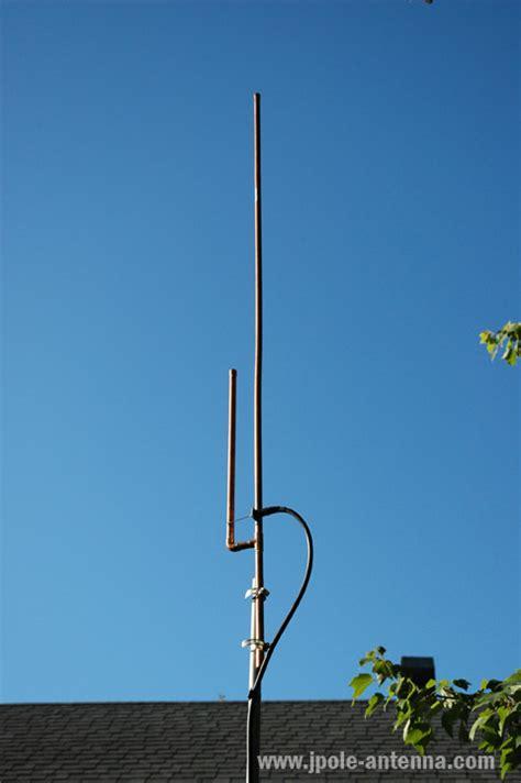 slim jim vs j pole antennas kb9vbr j pole antennas