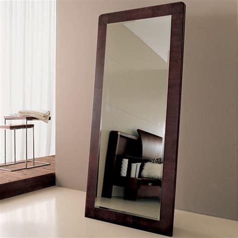 floor mirror modern wood floor length mirror floor mirrors modern