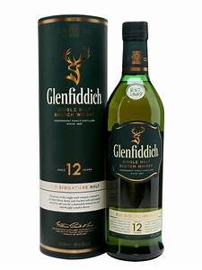 Glenfiddich 12 Year Old Scotch Whisky : The Whisky Exchange