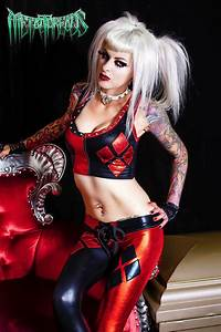 Metal Threads Harley Quinn Custom Made To Order Outfit Top