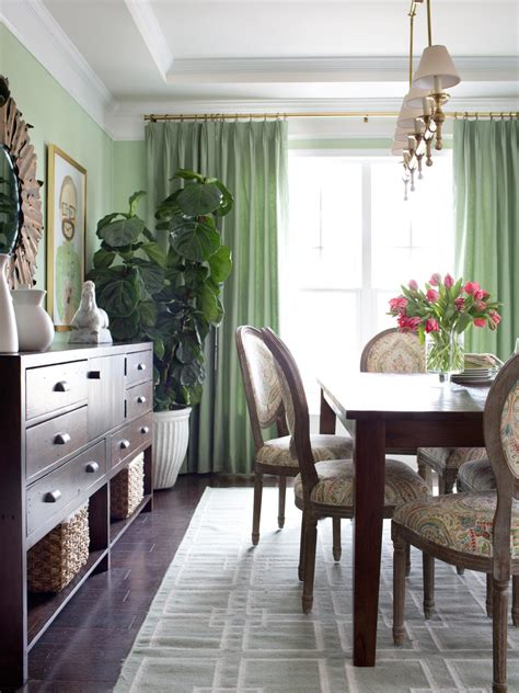 Decorating A Dining Room - for decorating with faux plants hgtv s decorating