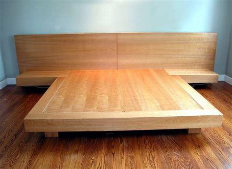 King Platform Bed Plans by Best 25 King Bed Frame Ideas On King Size Bed