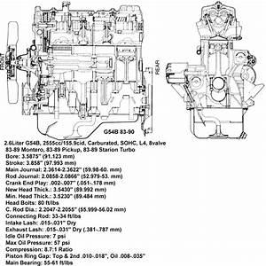 Manual De Servicio Mitsubishi Montero G54b