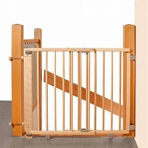 Barriere De Securite Escalier Sans Vis : geuther barri re en bois pour escalier a percer 95 ~ Premium-room.com Idées de Décoration