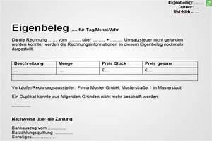 Rechnung Als Privatperson Ausstellen Dienstleistung : eigenbeleg muster gratis herunterladen everbill magazin ~ Themetempest.com Abrechnung
