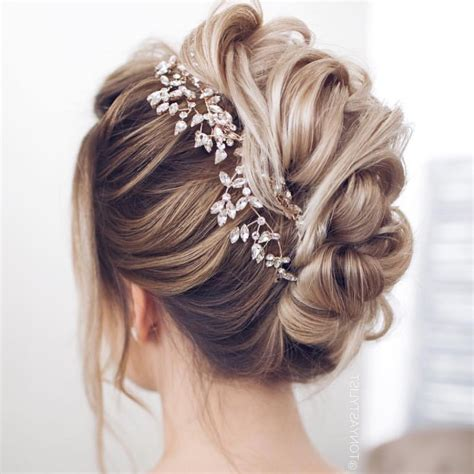 updo wedding hairstyles  long hair  wedding style