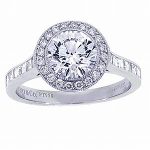 Tiffany co diamond estate engagement ring jewelry for Wedding ring companies