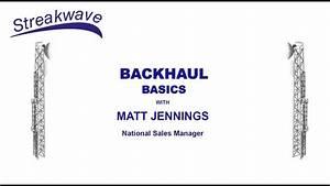 Backhaul Basics