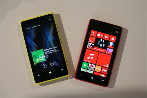 look nokia lumia 920 and 820 wired