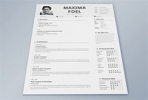 Free Best Resume Templates 2014 by 25 Best Free Professional Cv Resume Templates 2014