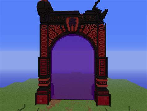 huge nether portal working minecraft project