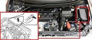 Fuse Box Diagram Honda Civic  2012