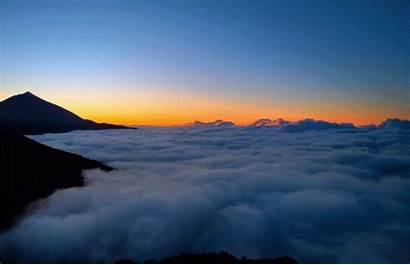 Dawn Sunrise Sky Sunset Clouds Mountains Dream
