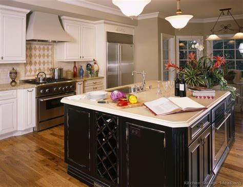 white kitchen with black island pictures of kitchens traditional white kitchen