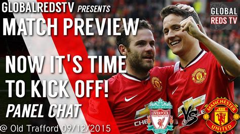 Time to Kick OFF! | Manchester United vs Liverpool | Match ...