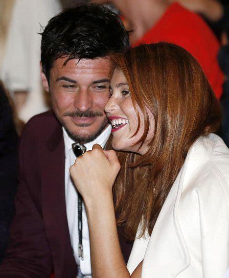Gemma Arterton cuddles up to husband Stefano Catelli at ...
