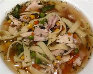 Homemade Chicken Noodle Soup Italian