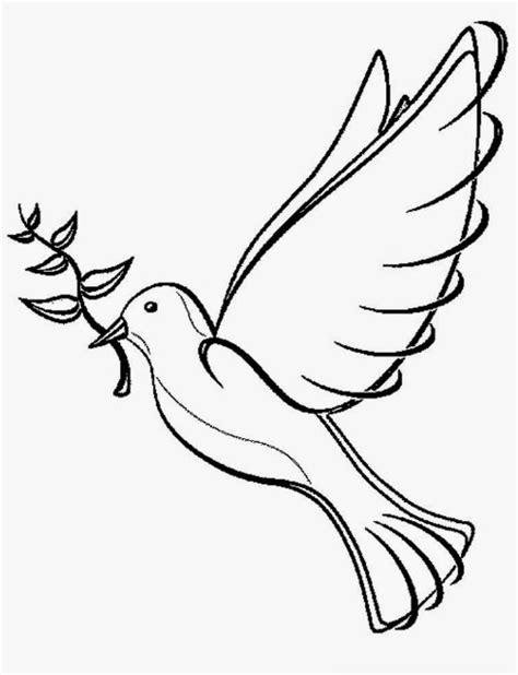 gambar burung animasi hitam putih