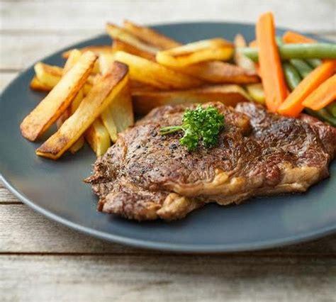 cuisiner entrecote recette entrecôte grillée et frites maison 750g