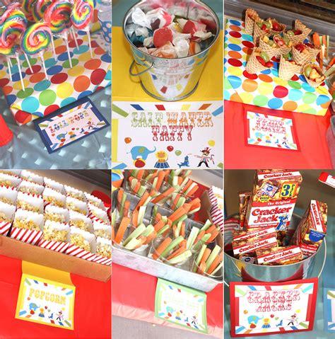 carnival food ideas carnival birthday party birthday party ideas