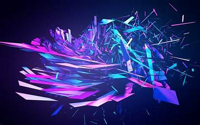 Purple Abstract Violet Space Computer Effects Graphic