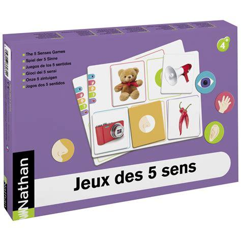 cuisine des cinq sens jeux des 5 sens jeux sensoriels nathan matériel éducatif
